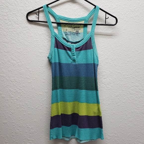 Nollie Tops - Striped Tank